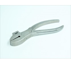 Webbing pliers polished with hammer claw