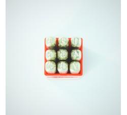 Number stamps set 3 mm