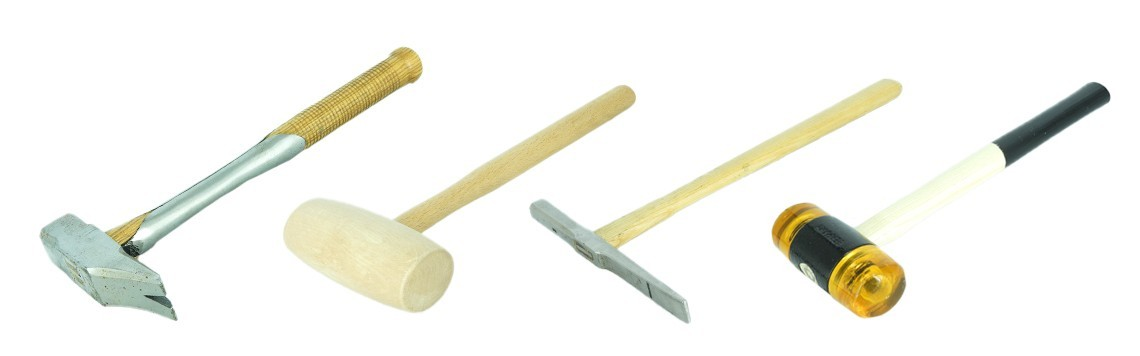 Upholsterer's hammers and mallets